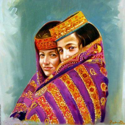 Kalash Girls Beauty
