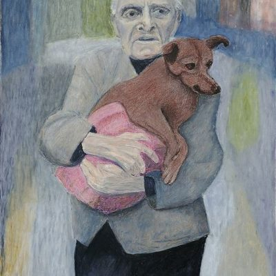 Old Man with his Dog