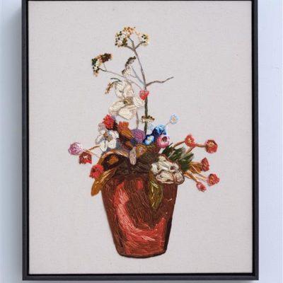 Vase of Flowers After Frances Hodgkins